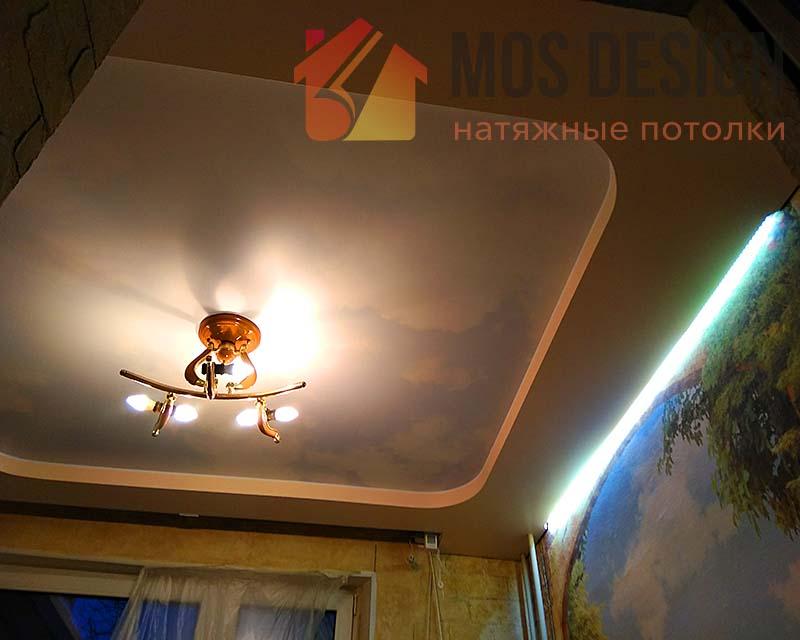 Потолок натяжной в детскую подростка